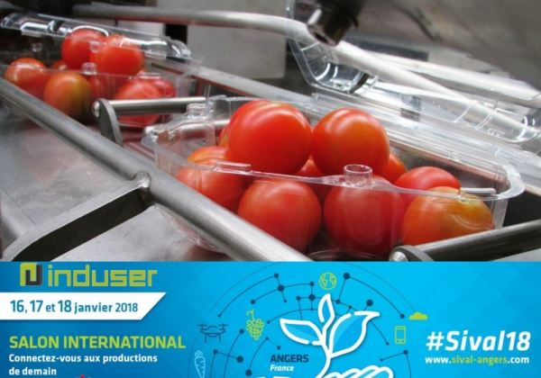 Induser's Innovations Presented at the SIVAL Exposition, in France's Green City