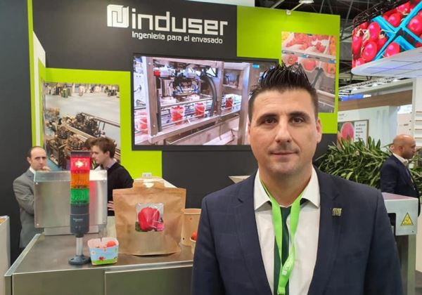 Induser Presenta en la Fruit Attraction 2019 Soluciones para Envasado Sostenible y Reciclable